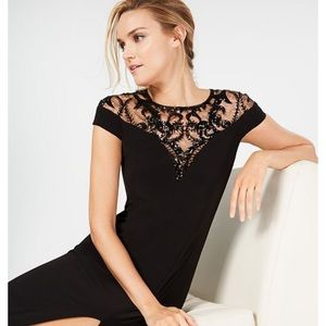 Adrianna Papell Black Evening Gown